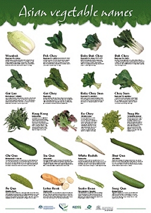 vegetable names  with pictures